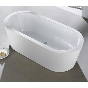 56 inch freestanding tub. Eviva Bathtubs You ll Love  Wayfair