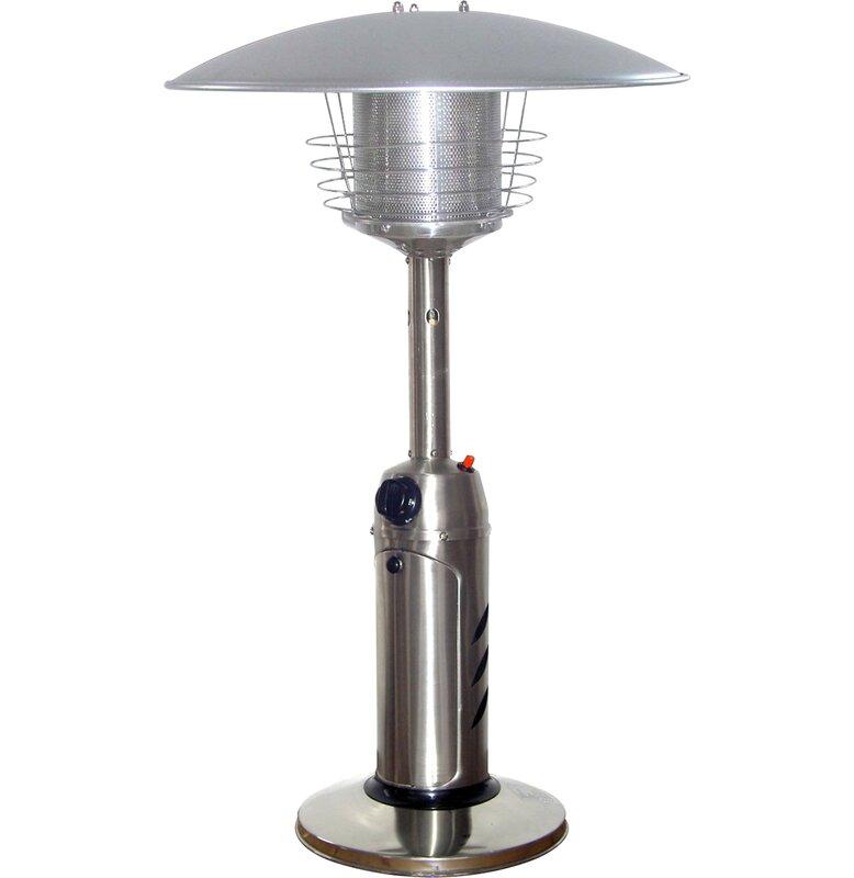 Merveilleux 11,000 BTU Propane Tabletop Patio Heater