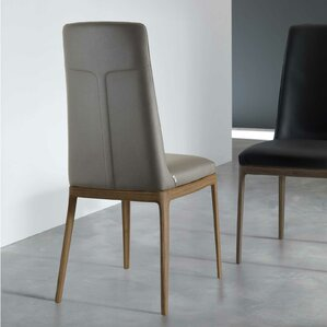 Post Genuine Leather Upholstered Dining C..