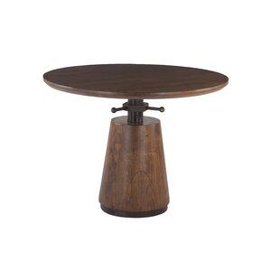 Haines Acacia Wood Adjustable Dining Table