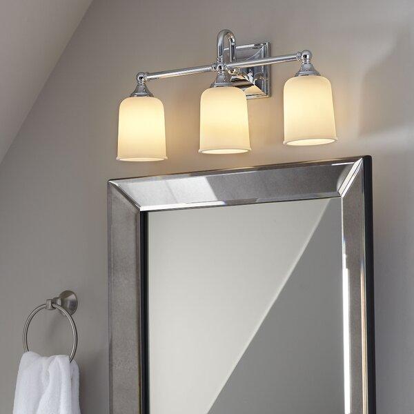Bathroom Lighting Showroom In Ma: Birch Lane™ Heritage Beacon 3-Light Vanity Light & Reviews