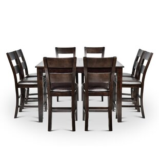Wynwood 9 Piece Counter Height Dining Set