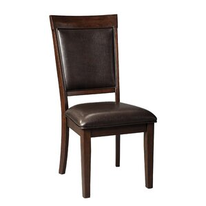 Burgher Dining Upholstered Side Chair by Three Posts