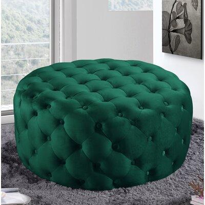 Green Round Ottomans Amp Poufs You Ll Love Wayfair