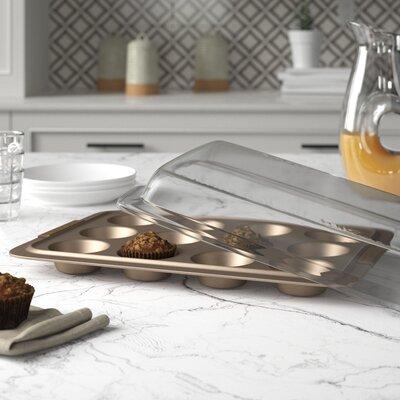 Advanced Bronze Non-Stick Muffin Pan Anolon
