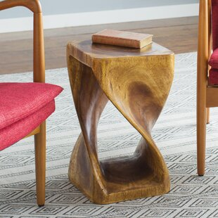 Charmant Pelley Twist End Table