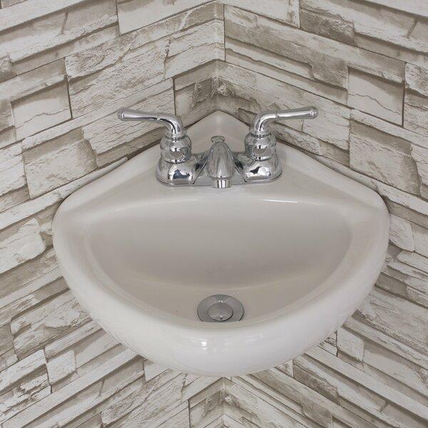 small corner bathroom sink wayfair - Corner Bathroom Sink