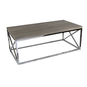 Metal Coffee Table by Sagebrook Home