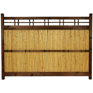 47.3 in. x 65 in. Japanese Kumo Fence by ..