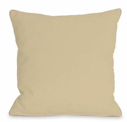 Solid Outdoor Throw Pillow Reviews Birch Lane