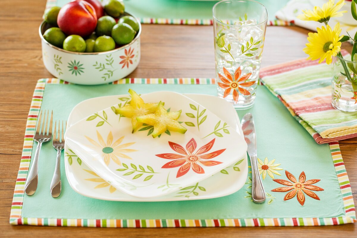 Corelle Dinnerware 32 Piece Set - Castrophotos