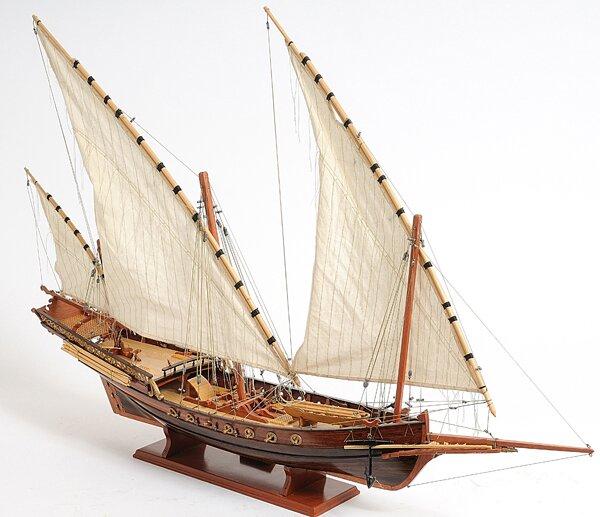 Old Modern Handicrafts Xebec Sailing Model Ship & Reviews
