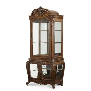 Lavelle Lighted Curio Cabinet by Michael Amini (AICO)
