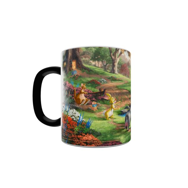 Trend Setters Winnie The Pooh Heat Changing Morphing Mug