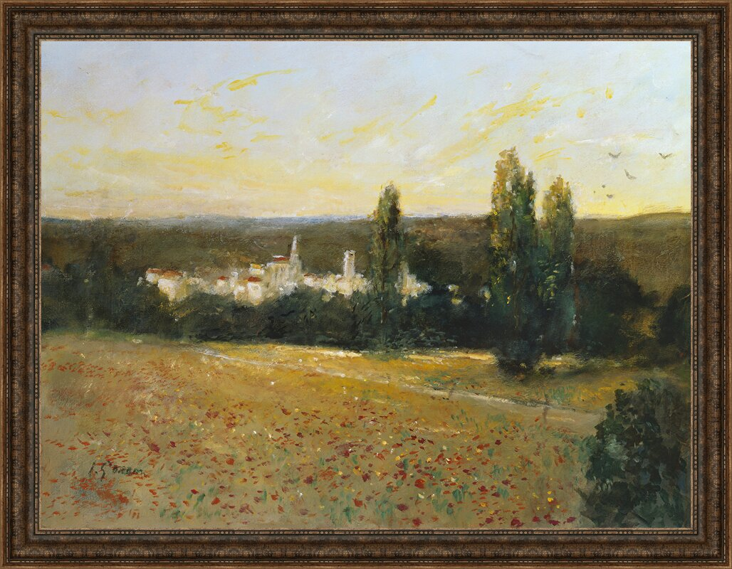 Ashton wall dcor llc afternoon in the country framed painting afternoon in the country framed painting print on wrapped canvas jeuxipadfo Choice Image