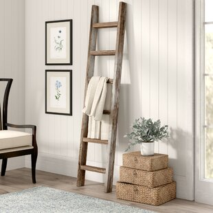 Wood 6 Ft Blanket Ladder