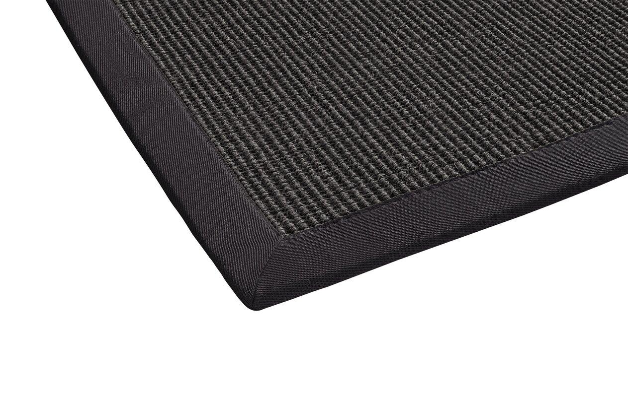 laurel foundry sisal teppich retta in grau bewertungen. Black Bedroom Furniture Sets. Home Design Ideas