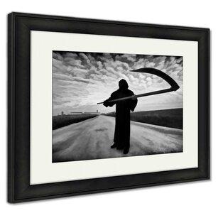Ebern Designs 'Grim Reaper on the Road' Photographic Print ...
