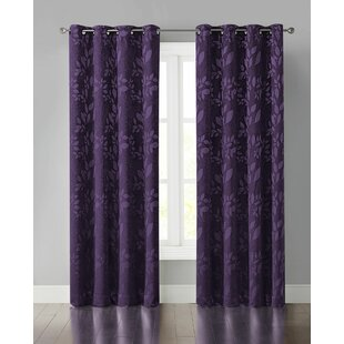 Dark Purple Blackout Curtains Wayfair