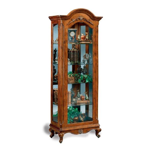 Charlemagne Lighted Curio Cabinet U0026 Reviews | Wayfair
