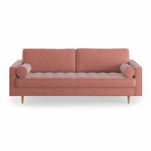 pink velvet sofas - Pink Velvet Sofa