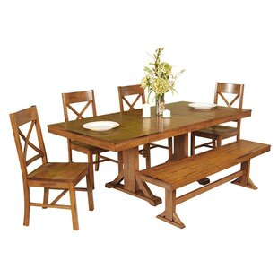 Faulkner 6 Piece Extendable Breakfast Nook Dining Set