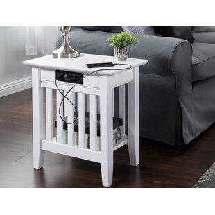 Avocet Charging Station End Table