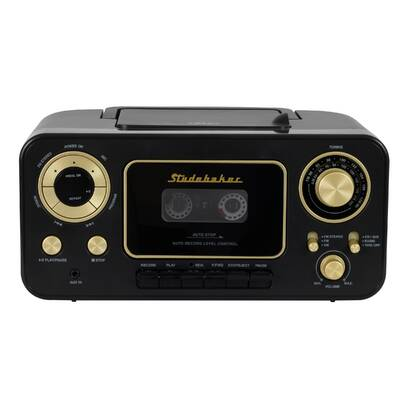 Retro Portable Cd Player With Radio And Cette