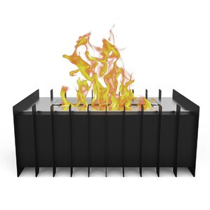 Pro Ventless Bio Ethanol Grate Burner Fireplace Insert by Regal Flame
