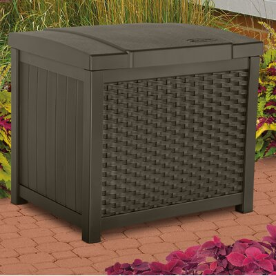 22 Gallon Resin Deck Box & Keter Comfy 71 Gallon Resin Deck Box u0026 Reviews | Wayfair