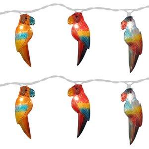 10-Light 11 ft. Parrot String Lights (Set of 2)
