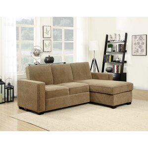 Serta Charlie Sleeper Sectional by Serta Futons