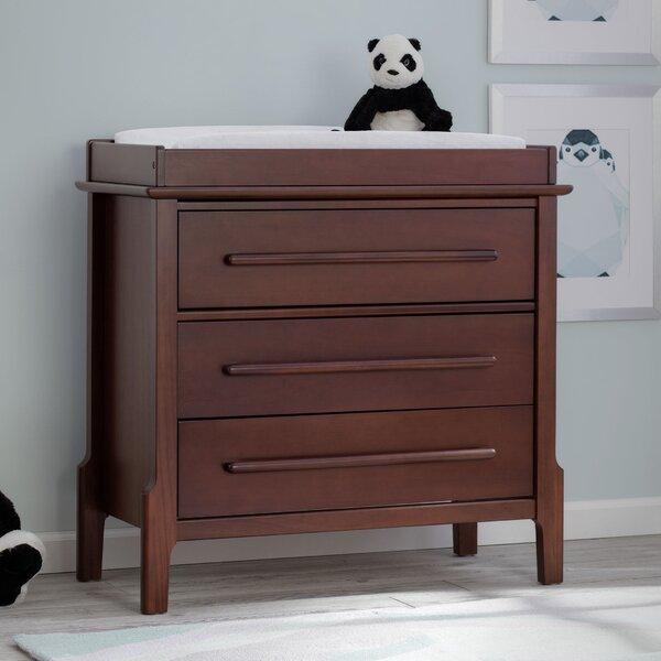 Serta Mid Century Modern With Changing Top Dresser Bombo U0026 Reviews   Wayfair