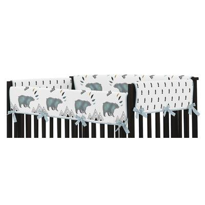 Bear Mountain Crib Rail Guard Cover (Set Of 2)