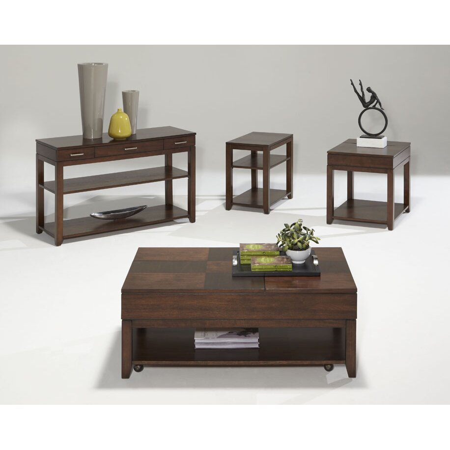 Daytona Coffee Table with Double Lift-Top - Progressive Furniture Daytona Coffee Table With Double Lift-Top