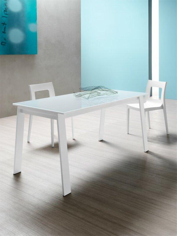 yumanmod alpha extendable dining table   wayfair