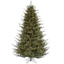 4.5' Itasca Frasier Artificial Christmas Tree 250 LED Clear Dura-Lit Lights with Stand