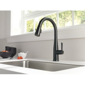 Black Kitchen Faucets You\'ll Love | Wayfair