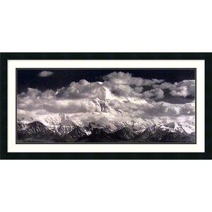 'Mount McKinley Range, Denali National Park, Alaska' by Ansel Adams Framed Photographic Print