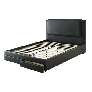 Montebello Queen Storage Upholstered Platform Bed by A&J Homes Studio