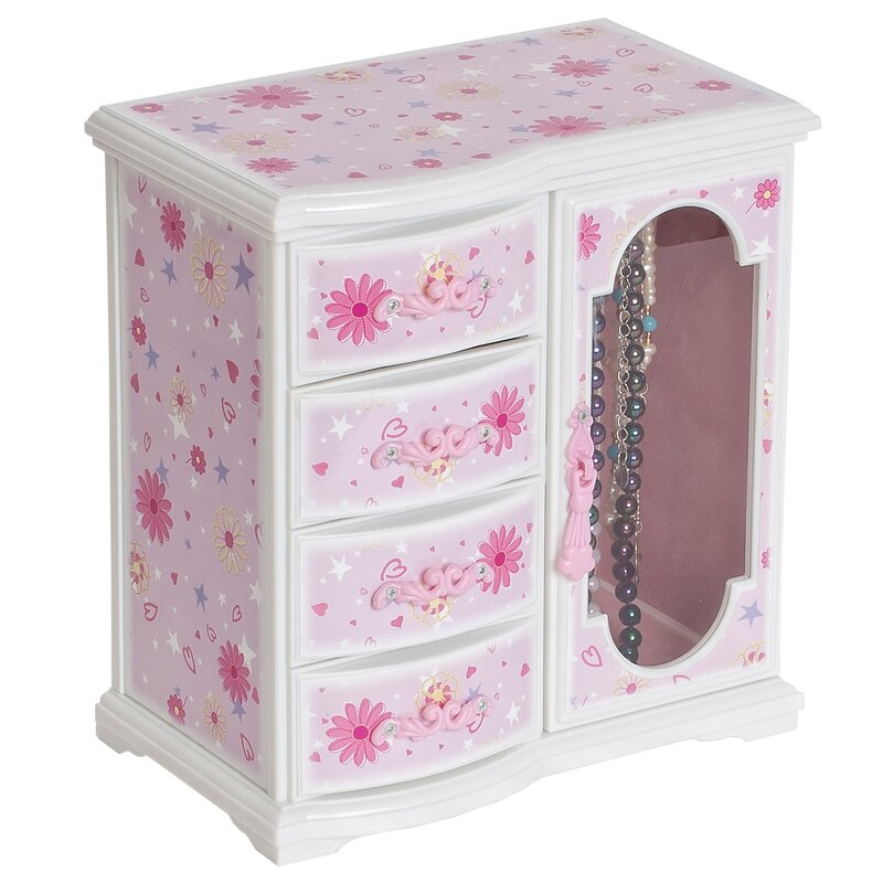 Viv Rae Madelyn Musical Ballerina Jewelry Box Reviews Wayfair