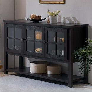 Charmant Black Buffet Table Sideboards U0026 Buffets