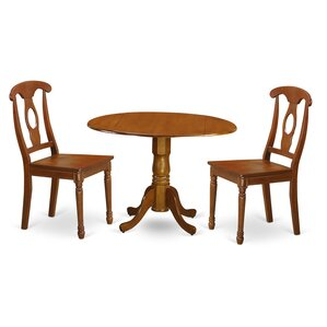 Gloucester 3 Piece Dining Set by Charlton..