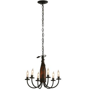 Tuscan Vineyard Frosted Wine Bottle 6 Light Chandelier