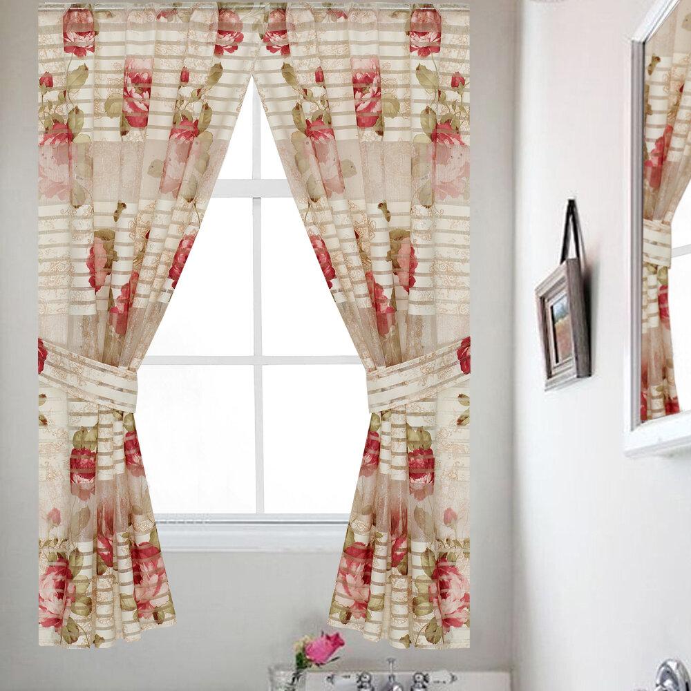 Bathroom Curtain Panel Set Of 2