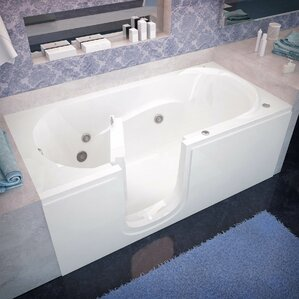 Whirlpool Tubs Youll Love Wayfair - Bath tub with jets