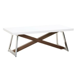 Arche X Leg Coffee Table by Orren Ellis