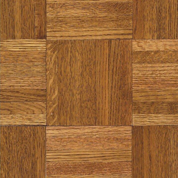 "Armstrong Flooring Urethane Parquet 12"" Solid Oak Parquet"