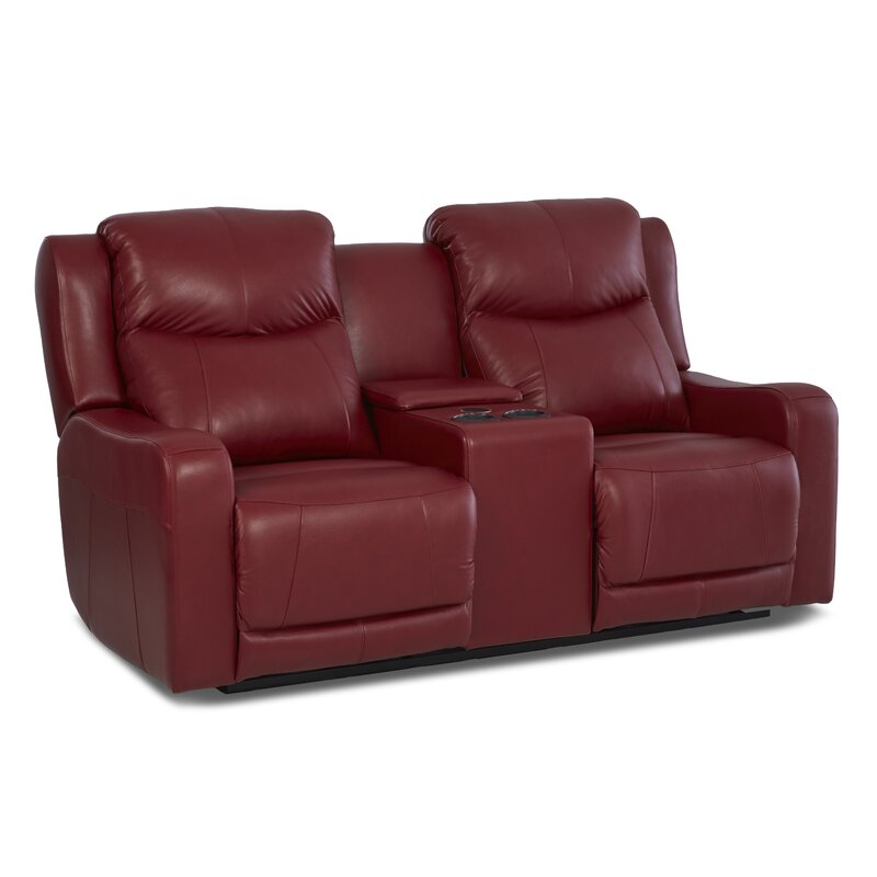 Theodore Reclining Sofa With Headrest And Lumbar Support