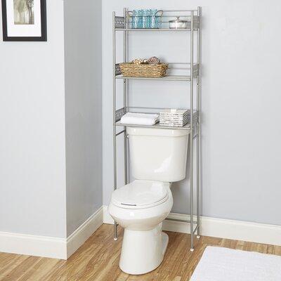 over the toilet storage cabinets wayfair. Black Bedroom Furniture Sets. Home Design Ideas